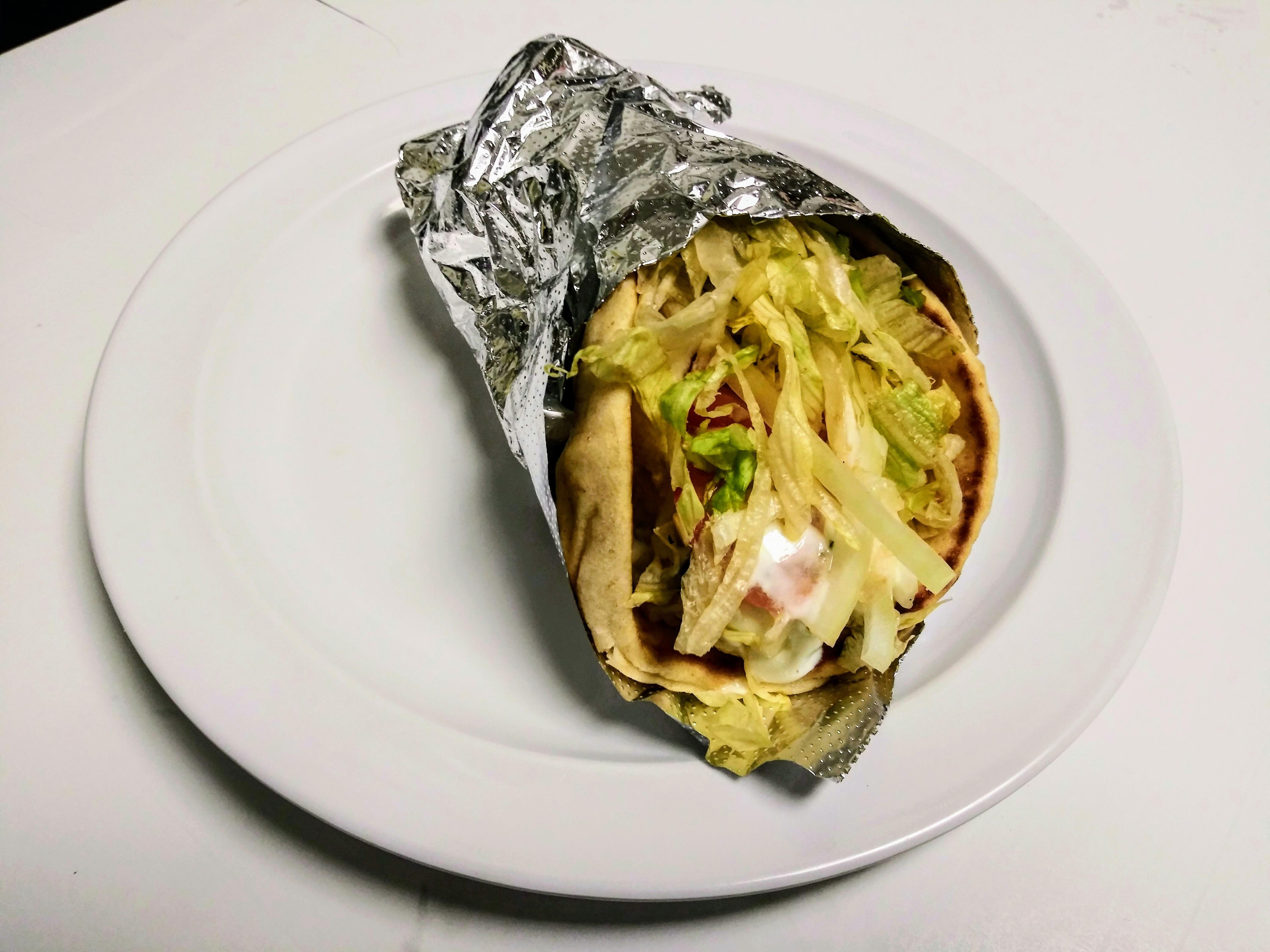 Falafel Gyro Wrap